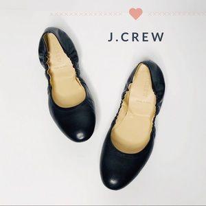 J. Crew Leather Ballet Flats Size 8